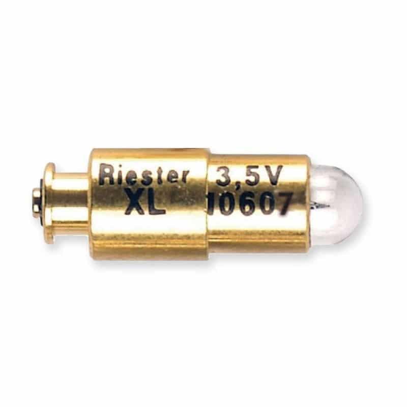 Visar Riester Otoskoplampa med ref 10607