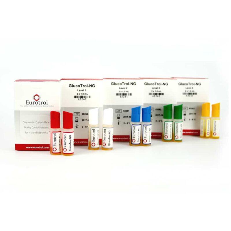 Kontroll för HemoCue Glukos-Mätare GlucoTrol-NG