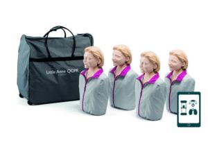LA12401050 Laerdal Little Anne QCPR 4-pack