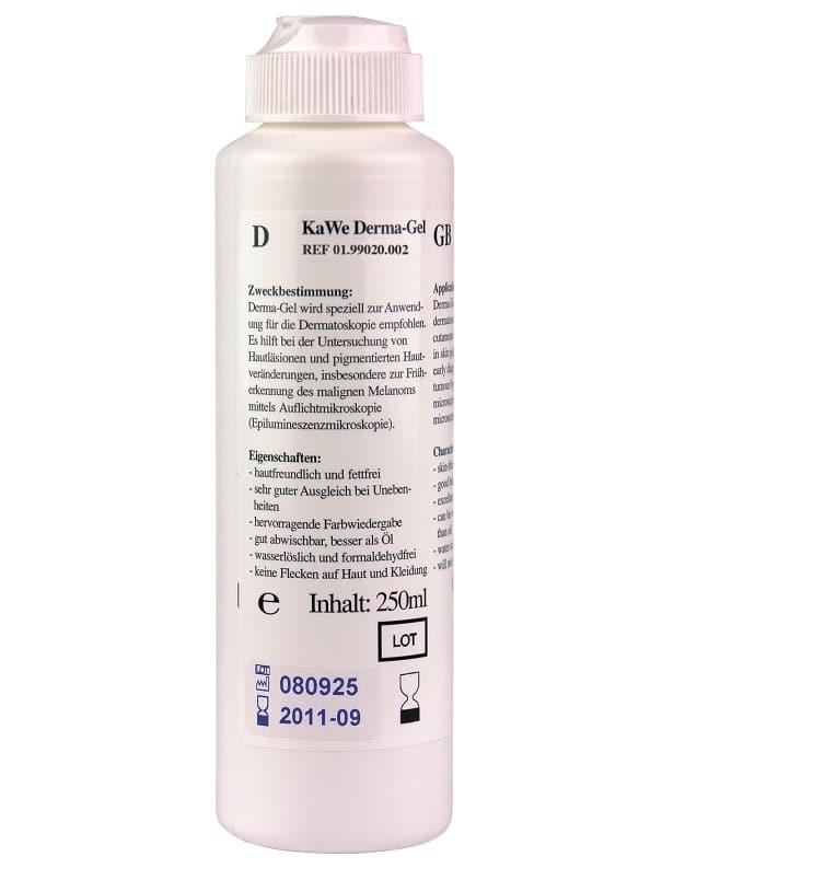 Derma-Gel 250 ml - Dermatoskop Gel