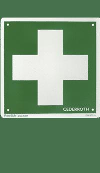 Första Hjälpen-kors Dubbelsidig