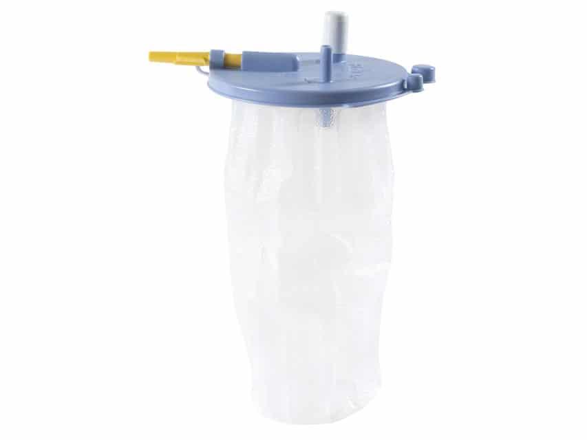 Engångspåse 2000 ml till Sugsystem - Med lock