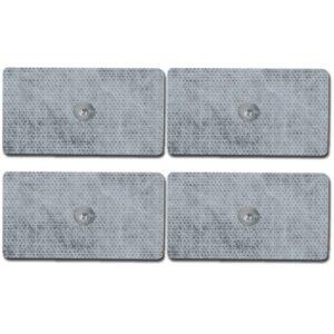 Elektroder med tryckknapp (45x80mm)