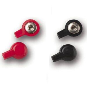 Adapter Stickkontakt 2mm till Tryckknapp