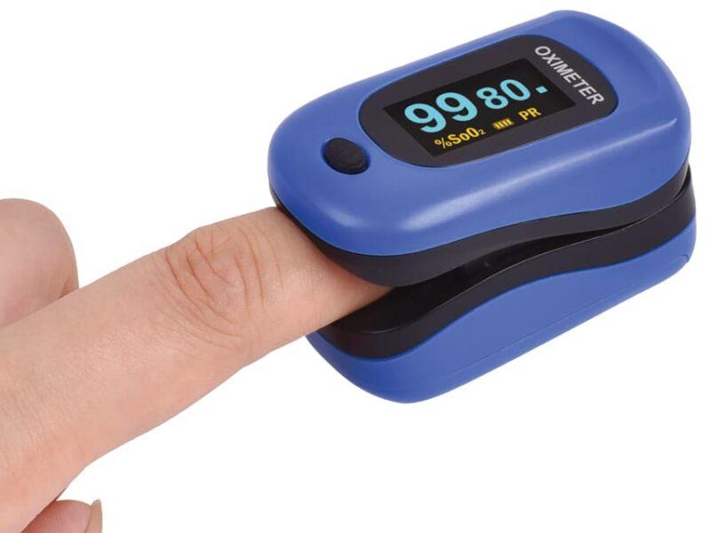 Syremätare OXY-4 - Fingerpulsoximeter och PMI
