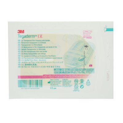 3M Tegaderm IV Transparent Filmförband med kant, 7cm x 8,5cm