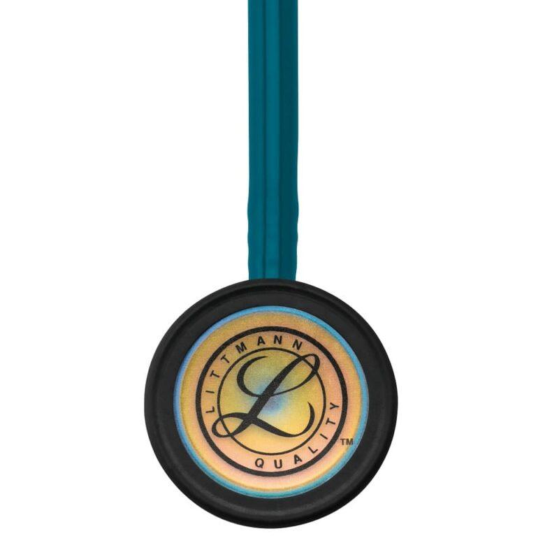 Littmann Classic III Stetoskop Caribbean Blue W- Rainbow Chestpiece