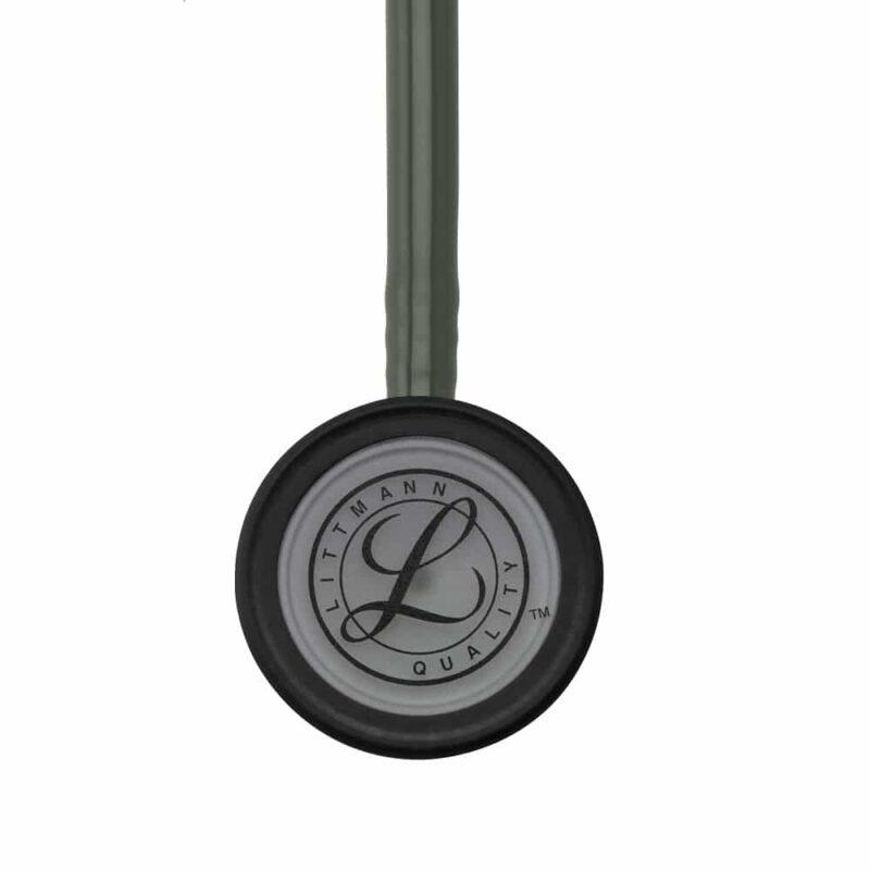 Littmann Classic III Stethoscope Dark Olive Green W-Smoke Chestpiece