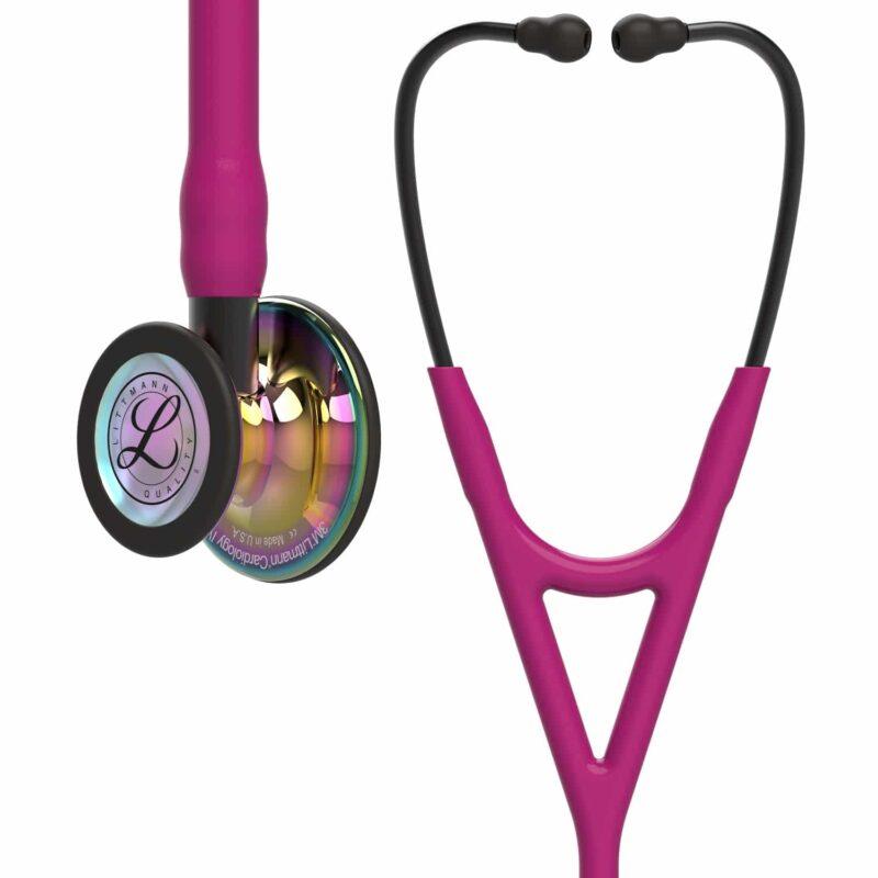 Stetoskop Littmann Cardiology IV High Polish Rainbow - Raspberry Tube