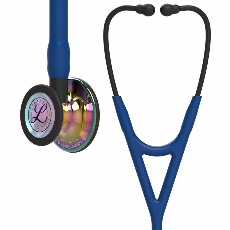 Stetoskop Littmann Cardiology IV High Polish Rainbow - Navy Tube