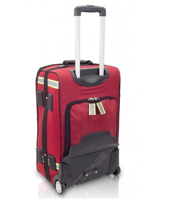 Akutväska med vagn(Röd)