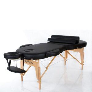 Oval Massagebänk i väska - VIP OVAL 2 (SVART)
