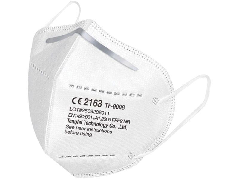 Ansiktsmask FFP2 utan ventil - 5 Stycken