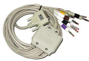 EKG-Kabel Banankontakt