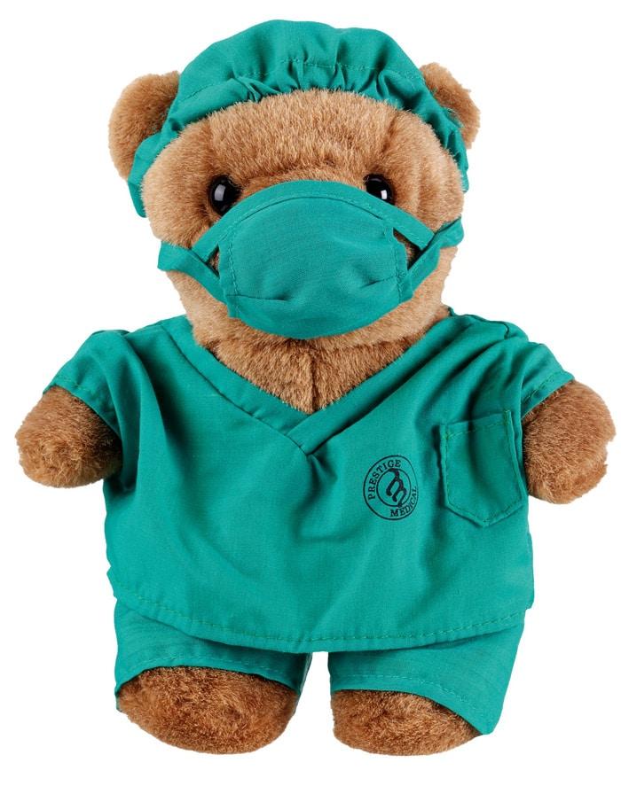Sjukvårdsnalle Dr. Scrubz Bear