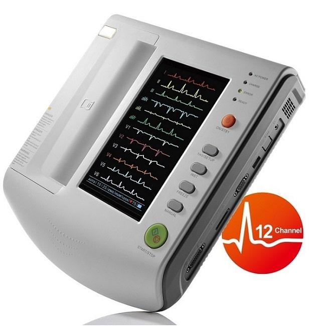 EKG 12-Avledning - ZQ-1212 COLOR