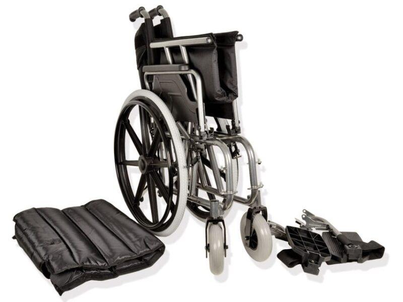 Extra bred rullstol