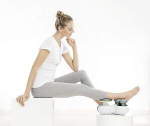 Apparat för Hälsenemassage