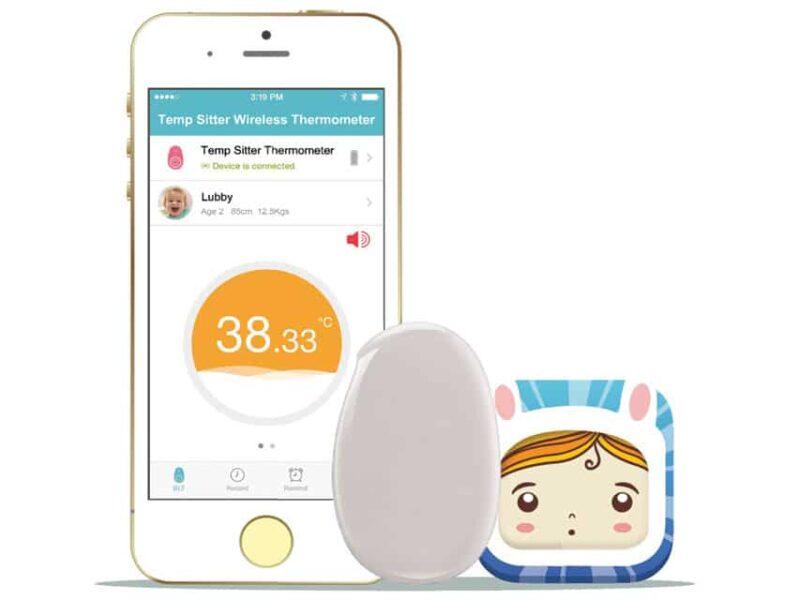 Febertermometer till SmartPhone