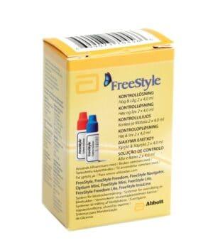 Kontrollvätska FreeStyle Lite Blodsockermätare
