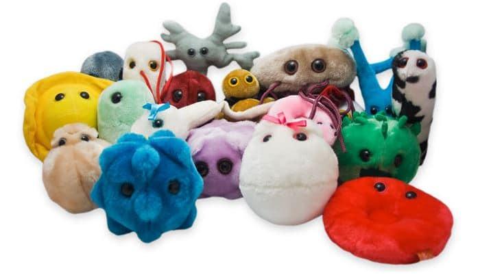 Giant Microbes Hjärncell