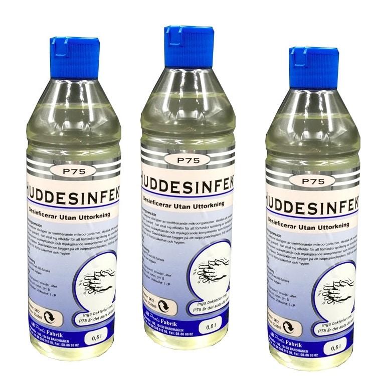 Handdesinfektion 500 ml - 18 Flaskor