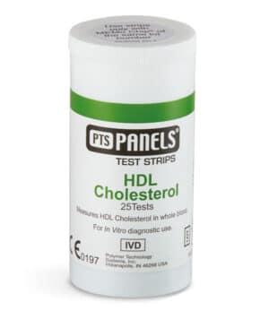 HDL kolesterol 25 st för singeltester