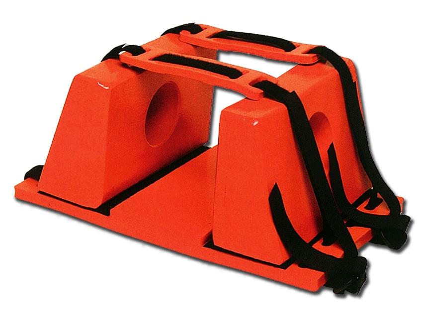 Huvudfixering för Spineboard - Orange