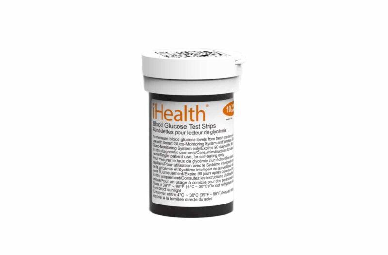 Teststickor till iHealth Blodsockermätare - Box 25st