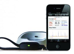 Sömnsensor LARK med väckning för iPhone, iPad och iPod