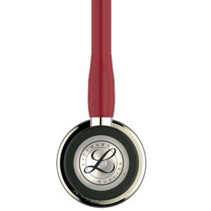 Littmann Cardiology IV Stetoskop Champagne chestpiece and stem-Burgundy Tube
