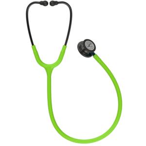 Littmann Classic III Stetoskop, Smoke Chestpiece, Lime Green Tube