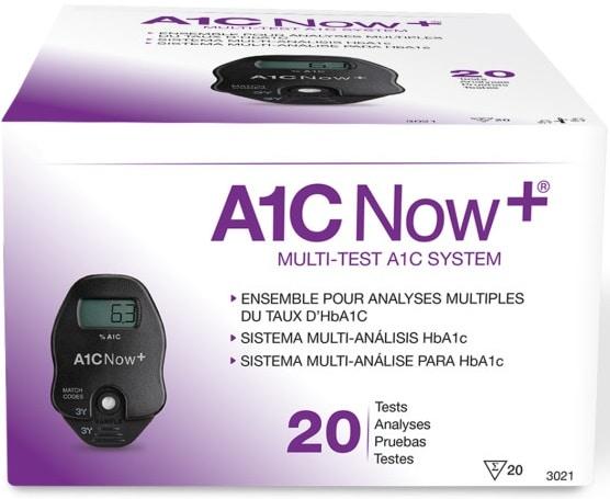 Långtidssockermätare A1C Now+ - HbA1C-mätare (20 tester)