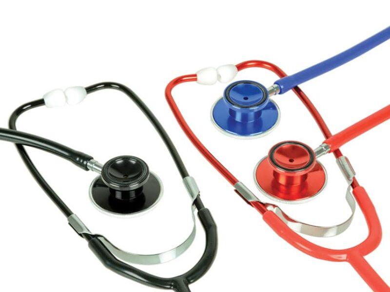 Metallic Stetoskop - Svart
