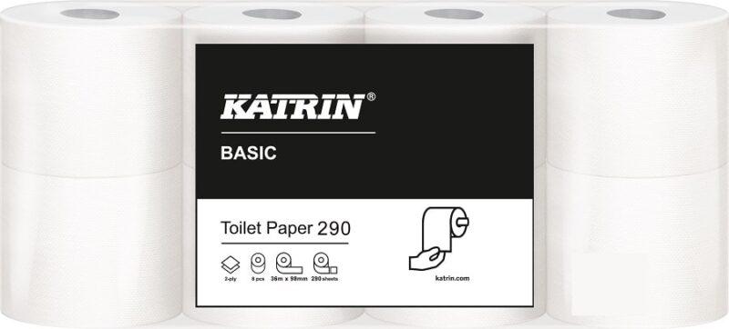 Toalettpapper Katrin Basic 290 2-lager 36m