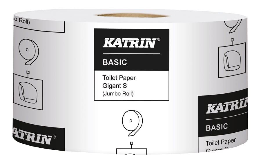 Toalettpapper Katrin Basic Gigant S 265m