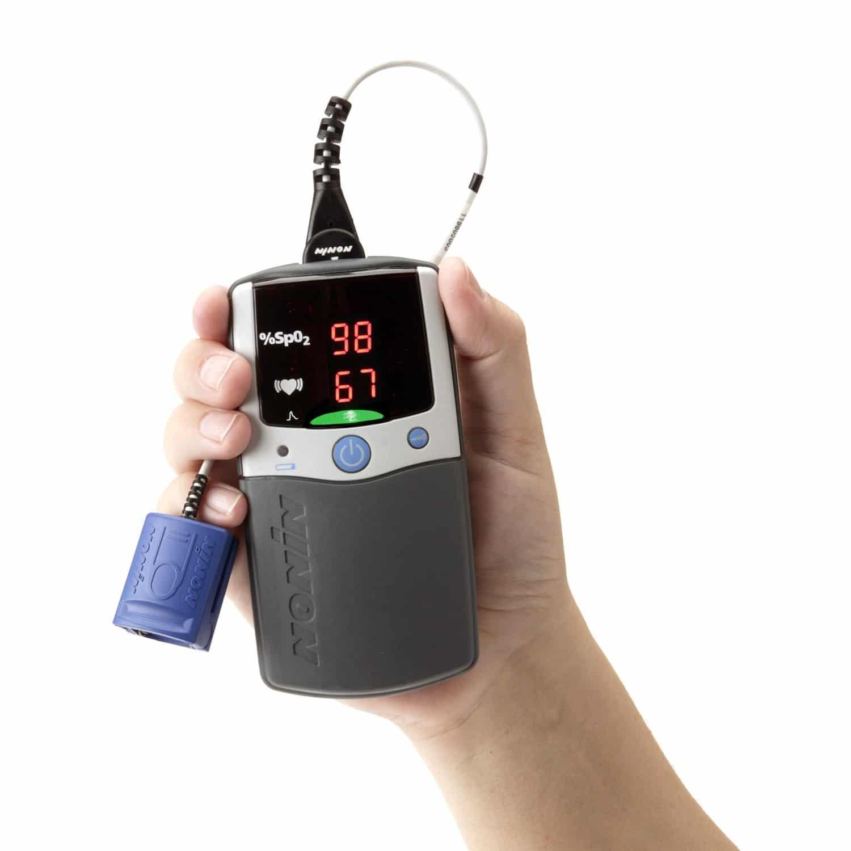Nonin Pulsoximeter 2500A PalmSAT