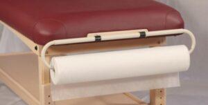 Pappershållare till Massagebänk
