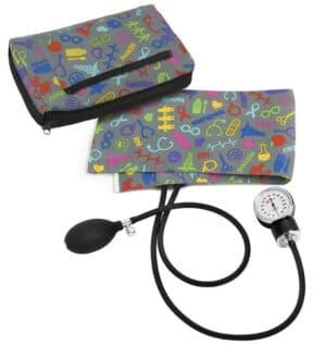 Premium Blodtrycksmätare med Sjukvårdsmotiv Tenn