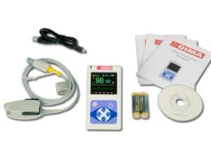 Pulsoximeter för Nyfödda Barn och Vuxna