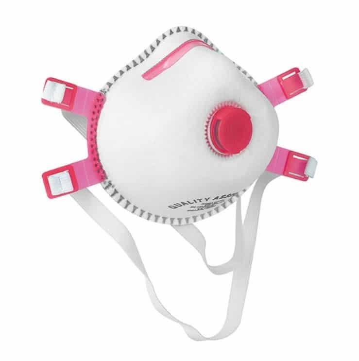 Ansiktsmask med ventil FFP3 5-pack