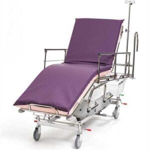 Sjukhusbår 3-delad - hydraulisk med styrhandtag