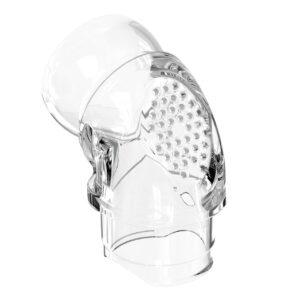Ventilerat knä till Eson 2 nästäckande mask