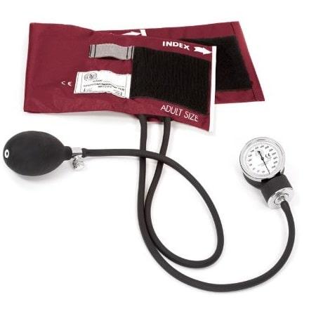Blodtrycksmätare Standard (Vinröd)