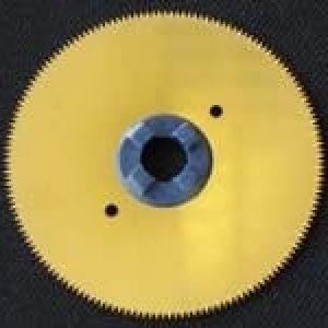 Sågblad i titan för syntetiskt gips