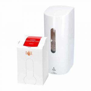 DAX Dispenserpaket med Handdesinfektion