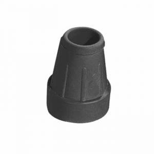 Doppsko för kryckor 25 millimeter i färgen svart