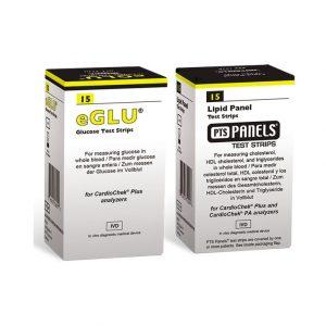 Lipidpanel + eGlukos Pack - ChardioChek Plus