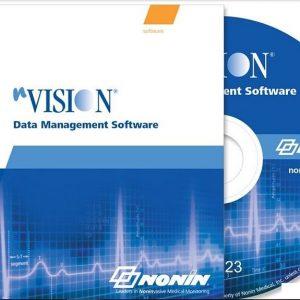 nVision SpO2-Mjukvara till Nonin Pulsoximeter