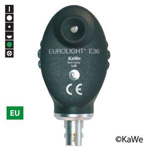 Oftalmoskophuvud  Eurolight E36 2,5V